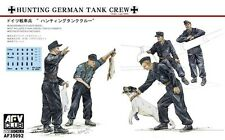 "1/35 AFV 35092  -  ""Hunting""  German Tank Crew 5 Figure set  Plastic Kit"