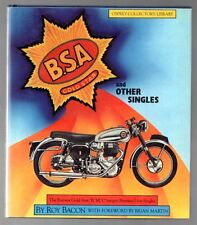 BSA GOLD STAR AND OTHER SINGLES B.S.A. 1982 HC BOOK Osprey Collector's Library