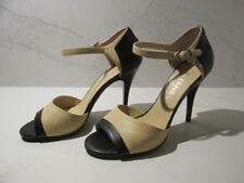 Stiletto Open Toe Casual Solid Heels for Women