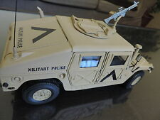 Rarissime AM General Hummer H1 Military Police Exoto 1/18