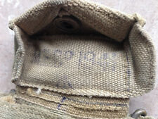 WW2 British Army 1937 MECO 1941  Pattern Webbing Pistol / Revolver Ammo Pouch.