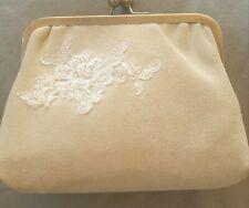Rachel Simpson Heather suede beaded vintage bag wedding / bridesmaid / cruise