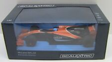 Scalextric MCLAREN HONDA MCL32 CAR - 2017 Fernando Alonso 1/32 Slot Car C3956