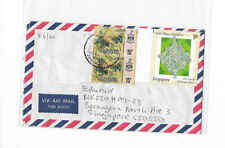 Malaysia Year 2000's cover from Johor postally sent to Singapore