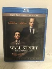 WALL STREET: MONEY NEVER SLEEPS BLU-RAY (NO DIGITAL) MOVIE (2010) DRAMA