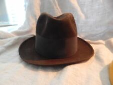 Vintage Resistol Self-Conforming Men's Fedora Harry Rolnik  6 3/4""