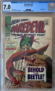 daredevil 33 CGC 7.0 Beetle appearance