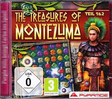 PC The Treasures of Montezuma Teil 1 & 2 - USK 0 - Topzustand CD-ROM