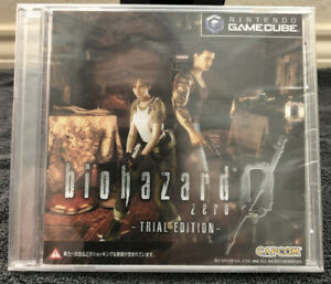 Biohazard 0 (Zero) Trial Edition Nintendo GameCube Brand New, Unopened, Unused
