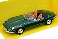 JAGUAR E TYPE 1:43 Car Model Die Cast Metal Models Miniature British Green
