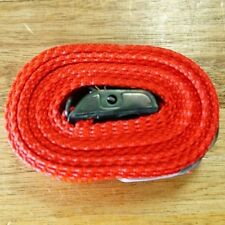 Fasty Strap - 2.5m / 250cm Red 25mm Wide 400KG Load Rated