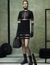 Alexander Wang X H&M Black Perforated Dress  Size M