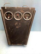 Rat Rod Vdo 1967 Gauge Panel For 2 12 Gauges Vdo Etc St13