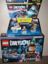 LEGO DIMENSIONS GHOSTBUSTERS STORY PACK Plus Level Pack - BNIB