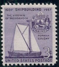 #1095 3¢ SHIP BUILDING SAILBOAT LOT OF 400 MINT STAMPS SPICE UP YOUR MAILINGS!