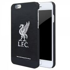 More details for official liverpool fc aluminium football case cover for apple iphone 6 black 4.7