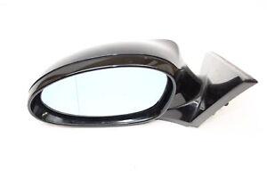 BMW 1er E81 LCI Außenspiegel Seitenspiegel beheizbar verstellbar links Schwarz 2