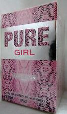 KAREN LOW PURE GIRL PARIS 3.4 OZ / 100 ML EAU DE PARFUME NIB FOR WOMEN SPRAY