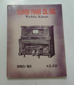 1983-'85 Player Piano Co. Inc., Wichita,Kansas Catalog