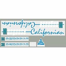 1987 Californian Mongoose decal set - Black frame