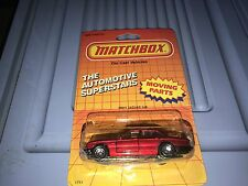 MATCHBOX THE AUTOMOTIVE SUPERSTARS MB41 RED JAGUAR XJ6 NEW!!!