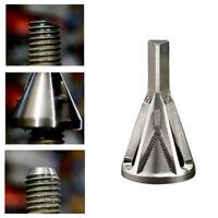Black Stainless Steel Deburring External Chamfer Tool Bit Remove Burr 8-32 DS