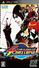 USED The King of Fighters Portable 94-98: Chapter of Orochi Japan  Sony PSP