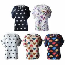 Unbranded Plus Size Casual Chiffon Tops & Shirts for Women
