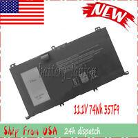357F9 0GFJ6 71JF4 74Wh Laptop Battery For Inspiron 7000 Dump 15 7557 7559 7566