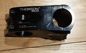 Black Thomson Elite X4 Stem 0* x 60 x 31.8
