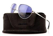 RARE TOM FORD William Mens Aviator JAMES BOND 007 Sunglasses TF 207 FT 0207 17V