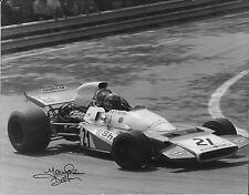 Jean Pierre BELTOISE original signé DPPI Press, matra-MS120B, Spanish GP 1971
