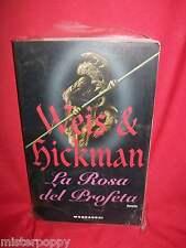 WEIS & HICKMAN La rosa del profeta 1990 Mondadori Prima Edizione