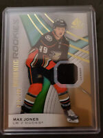 19-20 SP GAME USED AUTHENTIC ROOKIE jersey MAX JONES