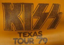 KISS DYNASTY TEXAS TOUR 1979 STONE CITY ATTRACTIONS TRAVEL BAG AUCOIN