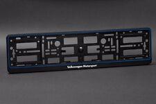 2 x Volkswagen Motorsport Euro License Number Plate Frame Holder