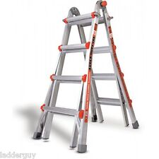 17 1aa Little Giant Ladder Super Duty With Wheels Amp Platform 375lb Rated 10402