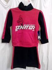 New Boy's Starter Baseball Sweatshirt and Pants outfit size Xs 4/5