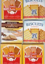 PORT OFFERT  RICR militaire 6 paquets de biscuits de 200g chaque DLUO 2021