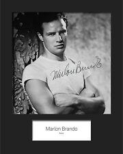 MARLON BRANDO #1 Signed Photo Print 10x8 Mounted Photo Print - FREE DELIVERY