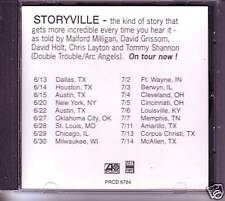 Storyville Good Day for Blues PROMO CD Single Stevie Ray Vaughan Backing Band