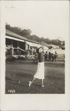 SPORTS GOLF SALTA ROSARIO DE LA FRONTERA BEJARANO  1268 REAL PHOTO 1937