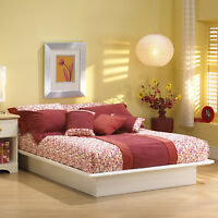New Solid Wood Platform Bed Frame Full Double Size