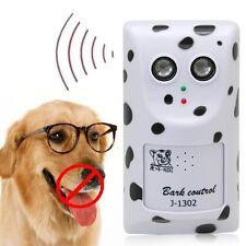 Ultrasonic Anti No Bark Stop Barking Dog Control Trainer Wall Mount