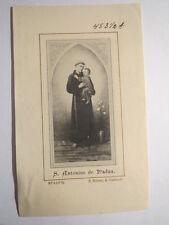 Sanctus Hl. Antonius von / de Padua / Andachtsbild Heiligenbild