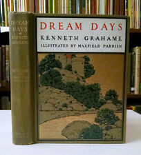 Maxfield Parrish, Kenneth Grahame, DREAM DAYS, 1902, Golden Age Illustrator