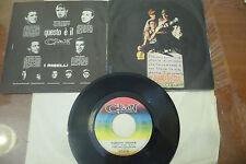 "ADRIANO CELENTANO""SABATO TRISTE-disco 45 giri CLAN It 1965"" COP.APRIBILE"