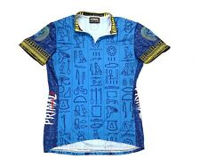 Primal Wear Queen of De-Nile Womens Cycling Jersey M Hieroglyphics Scarab Tribal