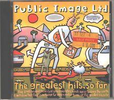 CD -  PUBLIC IMAGE GREATEST HITS SO FAR - Johnny Rotten (Sex Pistols) - VG++