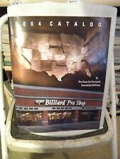 2004 Catalog Pool Cue Brochure, Schon, Joss, Predator, Falcon, Erwin, Mcdermott